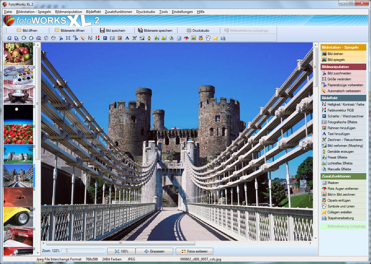 Windows 7 Integrierte Bildbearbeitung