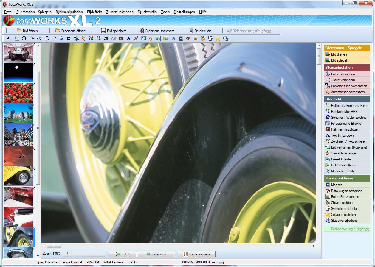 Bildbearbeitungsprogramm für Windows 7, 8, 10 kostenlos runterladen